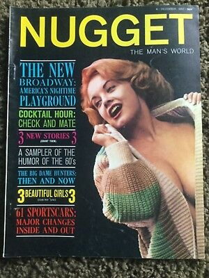 Vintage NUGGET Magazine Volume 5 Number 6 December 1960