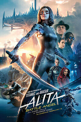 Posters USA - Alita Battle Angel Movie Poster Glossy Finish - MCP510