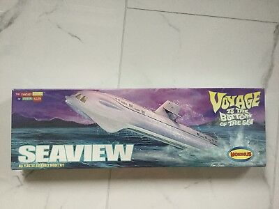 "Moebius 1/350 Seaview Voyage To The Bottom Of The Sea Model Kit 14"" Long 707 F/s"