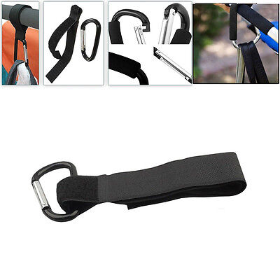 1x Buggy Clips Mummy Universal Pram Pushchair Shopping Bag Stroller Hooks Straps