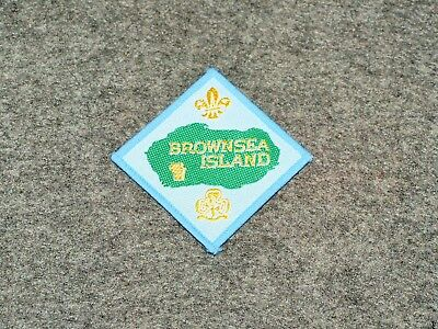 World Scouting Patch…brownsea Island…boy Scouts & Girl Guides