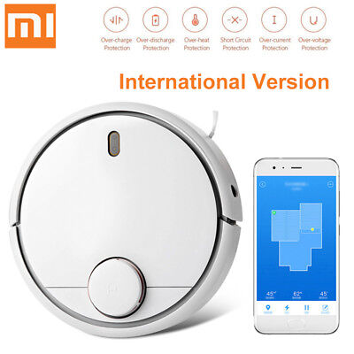 Xiaomi Smart Vacuum Cleaner Robot App Control 1800pa 5200mAh English Version HOT