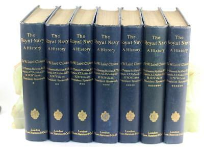1897-1903 The Royal Navy A History From Earliest Times To Present 7 Volumes