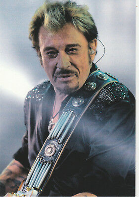 Carte Postale Johnny Hallyday  39   Passion  Rock