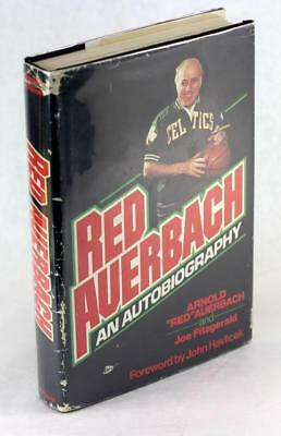Signed First Edition 1977 Red Auerbach An Autobiography Arnold Red auerbach HCDJ