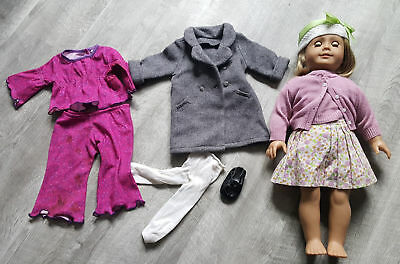 AMERICAN GIRL PUPPE Set Kittredge Im Ruhestand Set Outfits 2008 Meet ... 86ef55153d