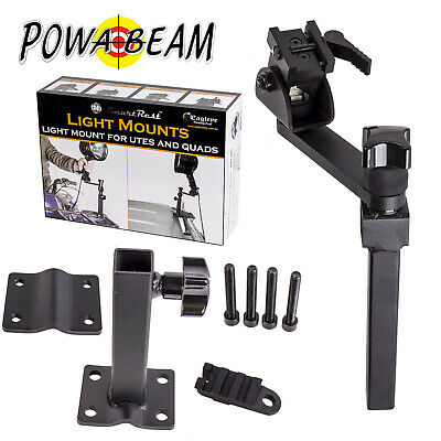 Smart Rest Swivel 16-40 Clamp Bracket Mount Suit Powabeam Powa Beam Spotlight