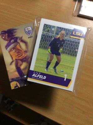 2016 LSU Lady Tigers Soccer Team Set & Pocket Schedule 30 Card Set