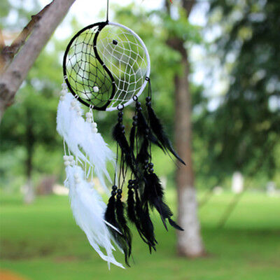 Dream Catcher With Feathers Car Wall Hanging Gift Decoration Handmade Ornament