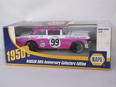 1956 Ford Curtis Turner NAPA Series 1/24th Scale Made In 1998 50th Anniversary