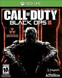 Call of Duty: Black Ops III 3 for Microsoft Xbox One Factory Sealed Local Co-Op