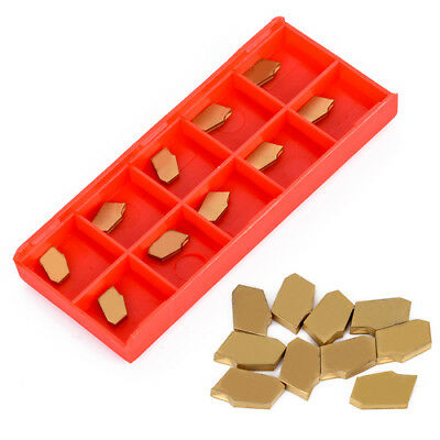 10 x SP200 NC3020 2mm Width Grooving Cut-Off Carbide Inserts For Cutting Tool
