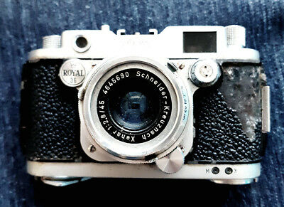 Robot Royal 36 Mod !!! With Lens Schneider Xenar 2.8/45mm With Casse Germany