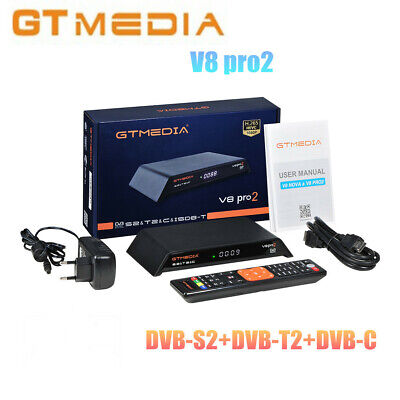 GTMedia V8 pro2 H.265 FHD 1080P DVB-S2/T2/C Satellite TV Receiver Built-in WiFi