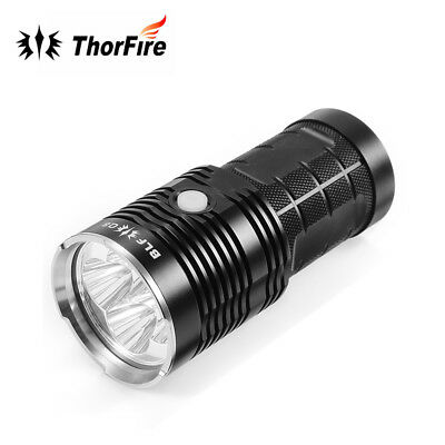 BLF Q8 4 XPL 5000LM Tactical Military LED Flashlight Torch 5-Mode for 18650 IPX8