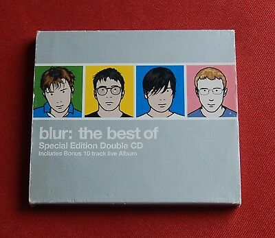 Blur - The Best Of - Special Edition Double CD incl Live Show - EMI Records 2000