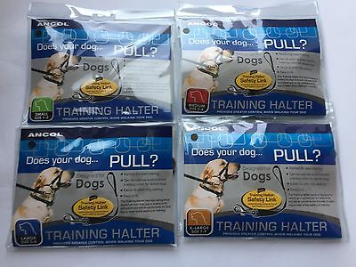 Ancol stops dogs pulling on lead Training Halter / Halti - Available in 4 sizes