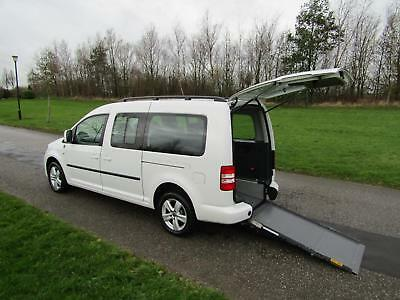 2015 Volkswagen Caddy Maxi Life 1.6 Tdi WHEELCHAIR ACCESSIBLE DISABLED VEHICLE