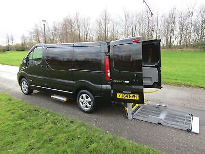 2014 Renault Trafic 2.0 Dci Automatic WHEELCHAIR ACCESSIBLE DISABLED VEHICLE WAV