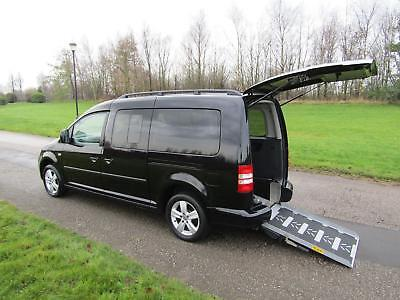 2013 13 Volkswagen Caddy Maxi Life 1.6 Tdi WHEELCHAIR ACCESSIBLE ADAPTED VEHICLE