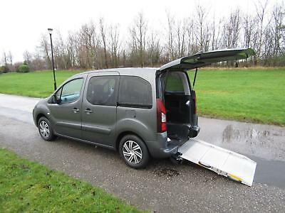 2015 15 Citroen Berlingo 1.6 Hdi Automatic 6k WHEELCHAIR ACCESSIBLE VEHICLE WAV