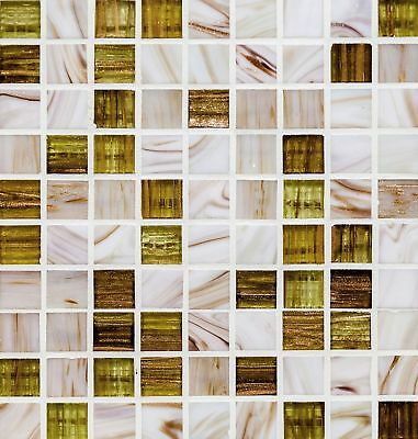 """6"""" Mosaic Marble Tile Sticker Transfer Decal Bathroom Kitchen Self Adhesive"""