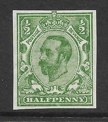 Sg 346f ½d Green Downey Head Multi Cypher Imperf superb UNMOUNTED MINT
