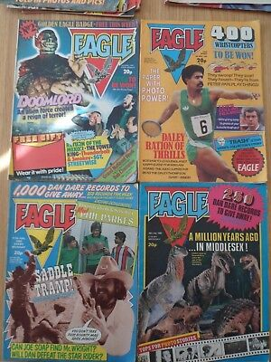 Eagle Comic's - Dare Dan - 39 issues - 1982/83/84 - Holiday specials