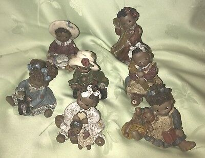 All God's Children Honey Josie Punkin Puddin Muffin Issie Sweetie Figurines Lot