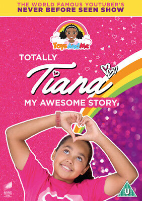 Toys and Me: Totally Tiana - My Awesome Story DVD (2018) Tiana Wilson ***NEW***