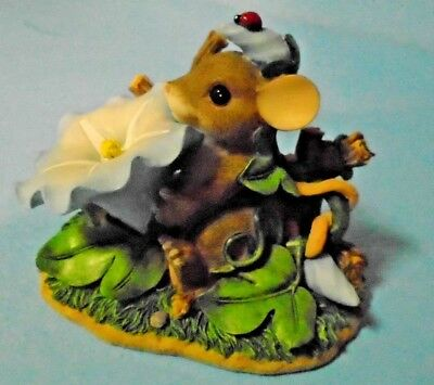 """Charming Tails """"You've Really Grown On Me"""" Figurine Fitz & Floyd 88/111"""