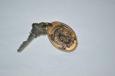 Vintage Regency Hotel Key w/ Fob New York