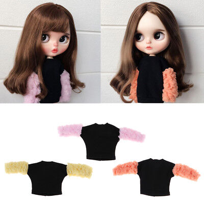Fashion Shirt Jacket Tops Casual Clothes for Blythe Doll Dress-up Accessory