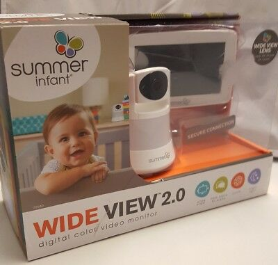 Summer Infant Wide View 2.0, digital color video monitor