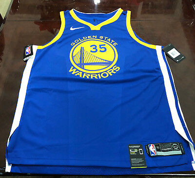 225181e54f6a KEVIN DURANT GOLDEN State Warriors Nike Authentic Road Jersey ...