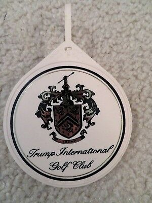 Trump International Golf Club Guest Bag Tag - Excellent - Free Shipping 79774d9e4c19