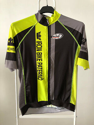 maglia ciclismo Iron Bike Paterno' Tag.XL bike cycling bici team jersey W137