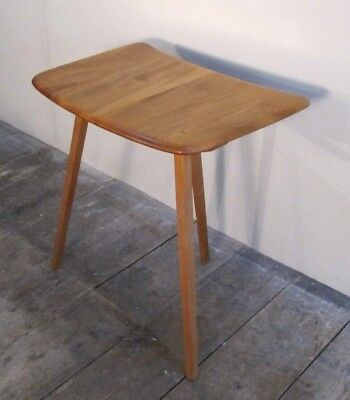 Vintage Ercol Extension Or Side Table