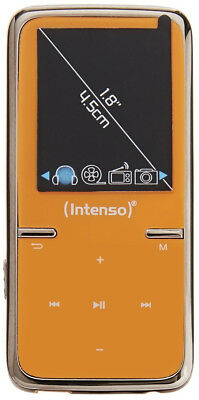 """Intenso 3717465 Video Scooter 8GB MP3 player Orange 1.8"""" TFT LCD - 8GB Flash -"""