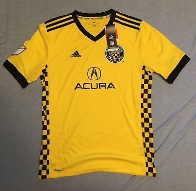 Adidas MLS Columbus Crew SC 2018 Soccer Jersey Youth XL BRAND NEW with Tags ece2cef6a