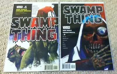 2004  Dc Vertigo Comics 4Th Series Swamp Thing 1-27