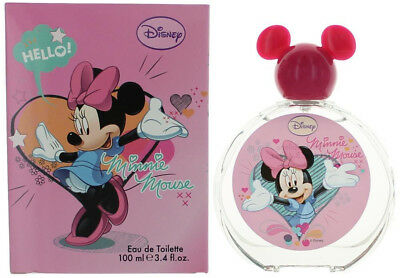 Minnie Mouse by Disney for girls EDT 3.3 / 3.4 oz New in Box