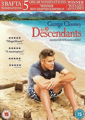The Descendants - George Clooney - NEW Region 2 DVD