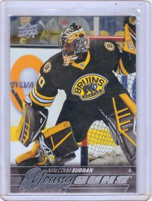 Mint Rookie! 2015-16 Ud Young Guns No. 211 Malcolm Subban Boston Bruins