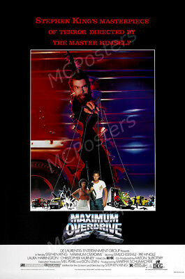 Posters USA - Maximum Overdrive Stephen King Movie Poster Glossy Finish - MCP624