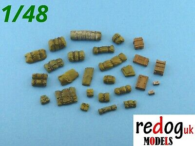 1:48   Stowage kit / diorama  -  modelling accessories 33 pieces 48/1