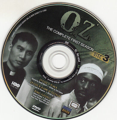 Oz First Season 1 Disc 3 Replacement Dvd Disc Only