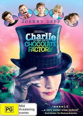 Charlie And The Chocolate Factory, DVD