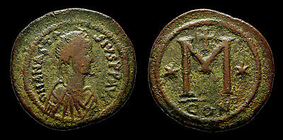 ANASTASIUS I - AE Follis (large module) Constantinople (17.1 gr, 38 mm)