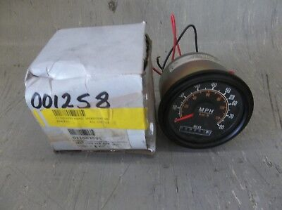 "New Flyer 12V 3-1/4"" 0-80 Speedometer #11003595"